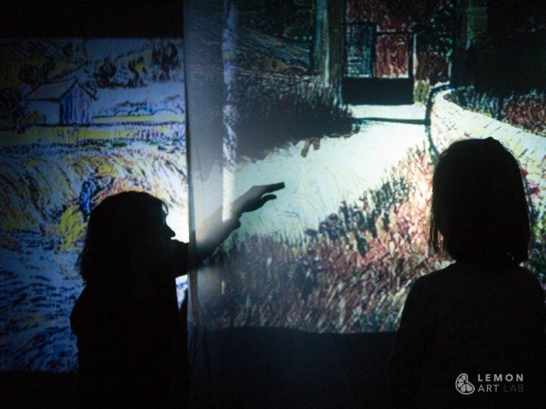 Videoproyecciones interactivas para niños