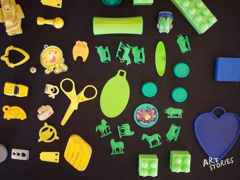 juguetes viejos para reciclar