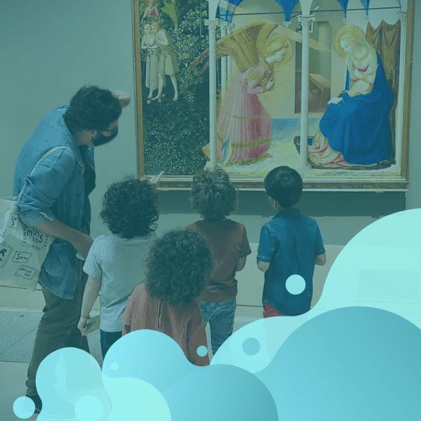visita para niños al museo del Prado divertida con actividades y juegos